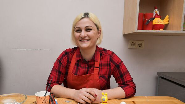 Изготовление собачки из мастики. Саида Квициния - Sputnik Абхазия