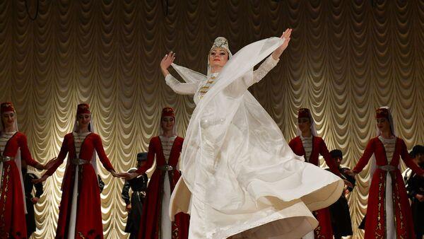 Отчетный концерт ансамбля Кавказ - Sputnik Абхазия