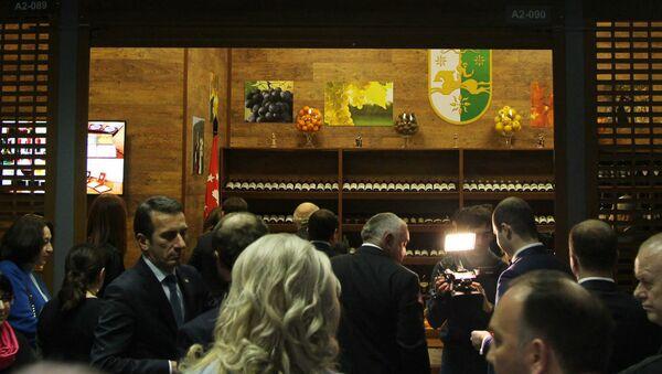Открытие дома Абхазия на площадке Interprod EXPO в ОРПЦ ФУД СИТИ - Sputnik Аҧсны