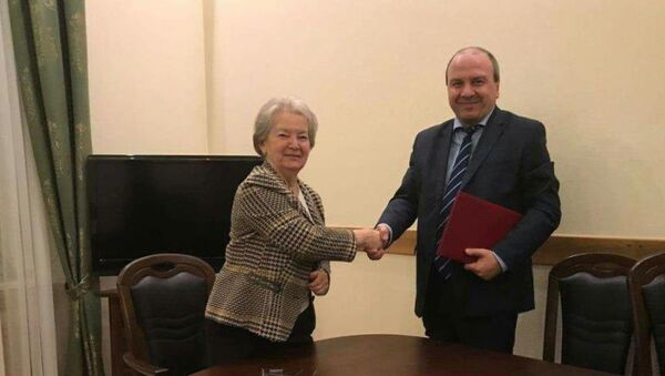 Подписание соглашения о сотрудничестве - Sputnik Аҧсны