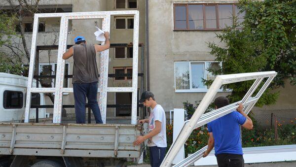 Ситуация в селе Приморское после взрыва - Sputnik Абхазия