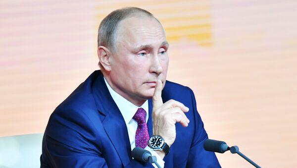 Президент РФ Владимир Путин - Sputnik Аҧсны