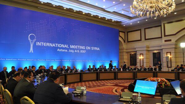 Встреча по Сирии в Астане - Sputnik Абхазия