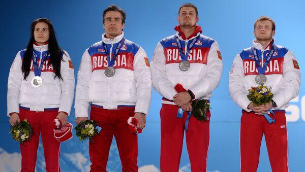 Олимпиада 2014. Церемония награждения. Седьмой день - Sputnik Абхазия