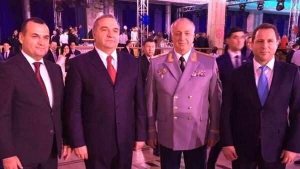 Министр по чрезвычайным ситуациям Абхазии принял участие в праздновании Дня спасателя Российской Федерации - Sputnik Аҧсны
