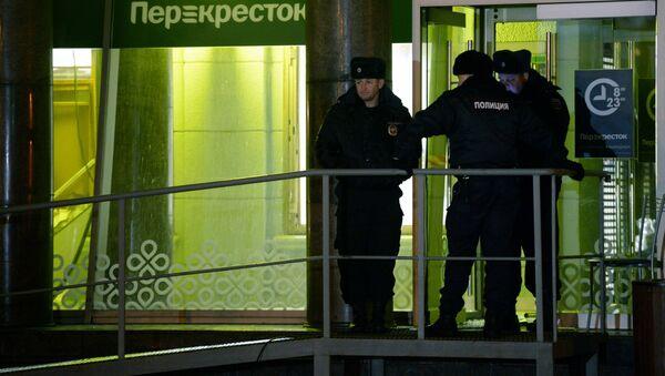 Взрыв в магазине Перекресток в Санкт-Петербурге - Sputnik Аҧсны