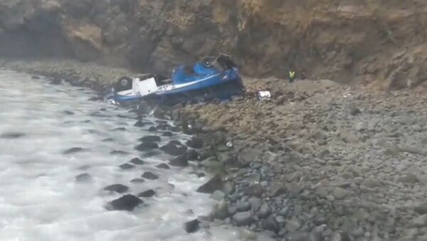 Автобус более чем с 50 пассажирами рухнул в стометровую пропасть в Перу - Sputnik Абхазия
