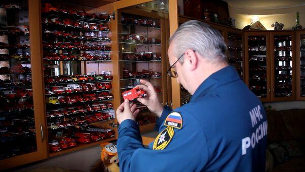 Самая большая коллекция моделей пожарных машин в России - Sputnik Абхазия