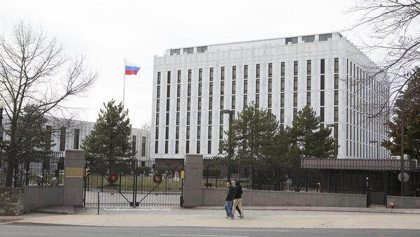 Посольство России в Вашингтоне - Sputnik Аҧсны