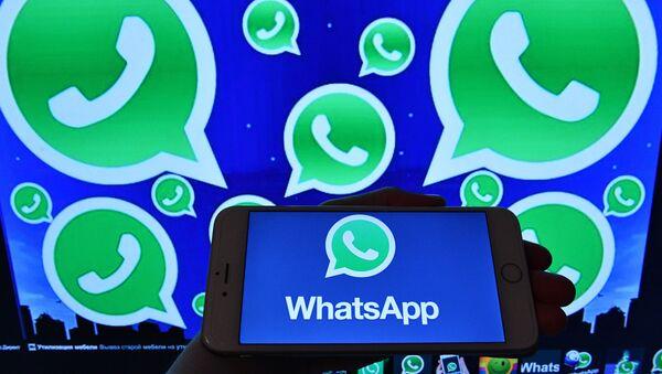 Мессенджер WhatsApp - Sputnik Аҧсны