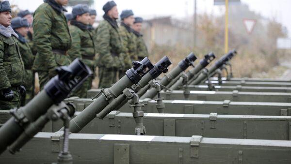 Отвод военной техники завершился в ДНР - Sputnik Аҧсны