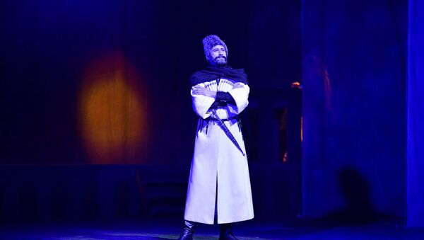 Премьера спектакля молодежного театра Келешбей - Sputnik Аҧсны