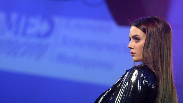 Участница во время финала конкурса Топ модель России 2017, архивное фото - Sputnik Абхазия