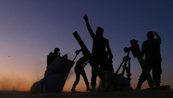 Борцы Свободной Сирийской Армии - Sputnik Аҧсны