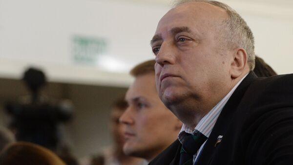 XVI Съезд политической партии Единая Россия. День первый - Sputnik Абхазия