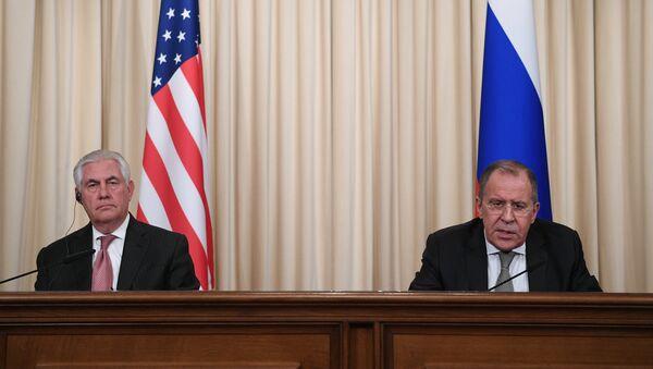 П/к министра иностранных дел РФ С. Лаврова и госсекретаря США Р. Тиллерсона - Sputnik Абхазия