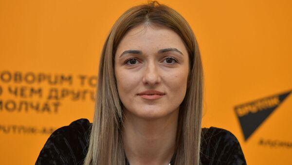 Пресс-конференция об отчетном концерте музыкальной студии Фаи Мархолия - Sputnik Абхазия