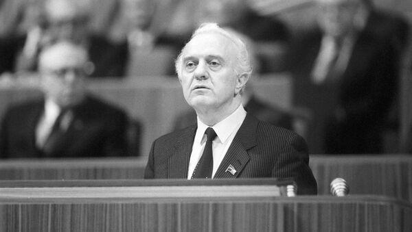Эдуард Шеварнадзе - Sputnik Абхазия