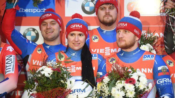 Санный спорт. Чемпионат Европы. Командная эстафета - Sputnik Абхазия