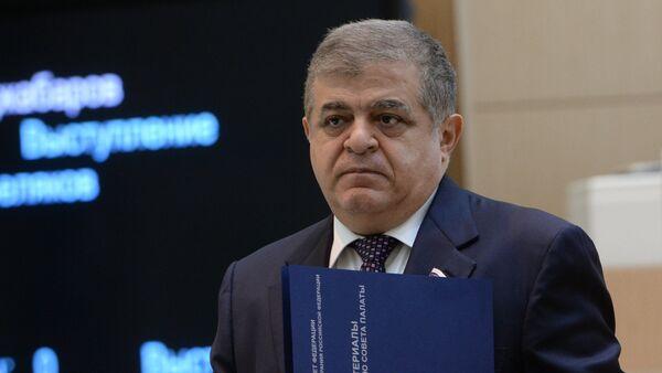 Первый заместитель председателя Комитета Совета Федерации по международным делам Владимир Джабаров - Sputnik Абхазия