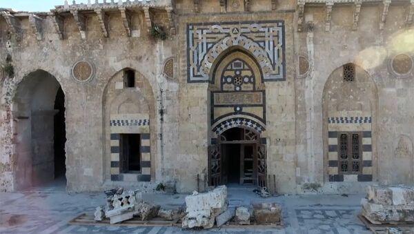 В Алеппо восстановливают мечеть Омейядов, разрушенной террористами - Sputnik Абхазия
