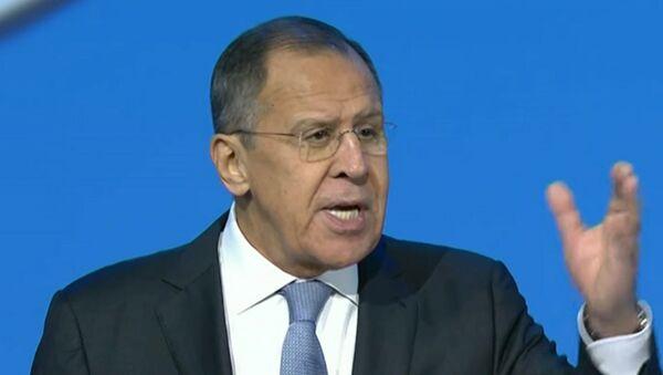 Крики делегатов прервали речь Лаврова на конгрессе в Сочи - Sputnik Абхазия