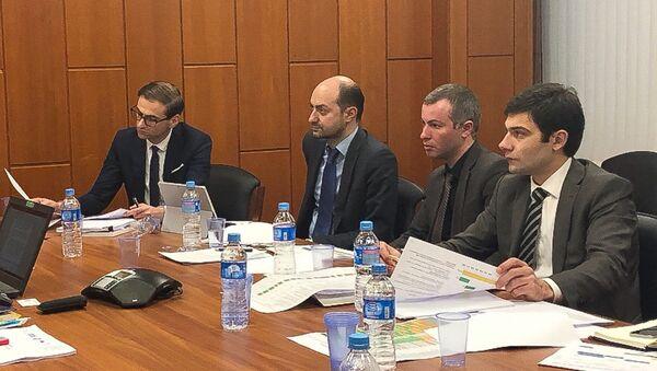 Заур Гулиа и Инар Гицба встретились с представителями Агентства стратегических инициатив в Москве - Sputnik Аҧсны