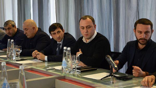 Встреча глав районных комитетов - Sputnik Аҧсны