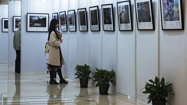 Открытие выставки победителей конкурса им. Андрея Стенина в Шанхае. Архивное фото - Sputnik Аҧсны