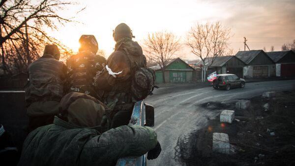 Ополченцы ДНР в Донецкой области - Sputnik Аҧсны