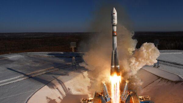Старт ракеты-носителя Союз-2.1а с космодрома Восточный - Sputnik Аҧсны