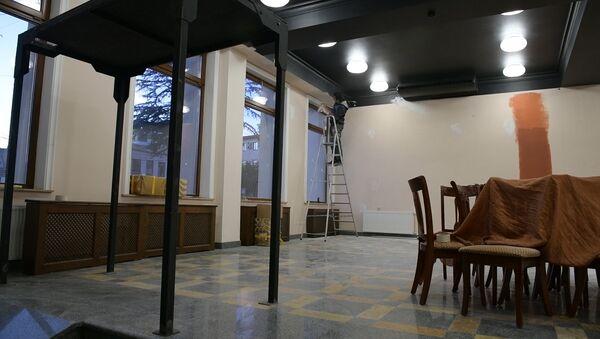 Цвета театра: что происходит в здании РУСДРАМа - Sputnik Абхазия