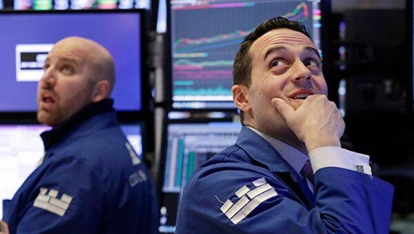 Сотрудники Нью-Йорской фондовой биржи - Sputnik Абхазия