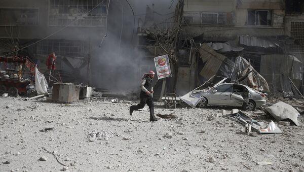 Авиаудары в Сирии, архивное фото - Sputnik Абхазия