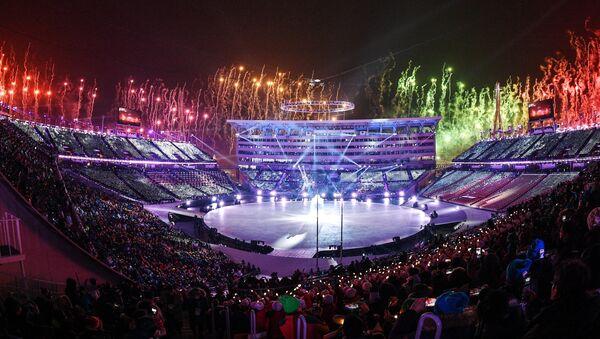 Церемония открытия XXIII зимних Олимпийских игр - Sputnik Аҧсны