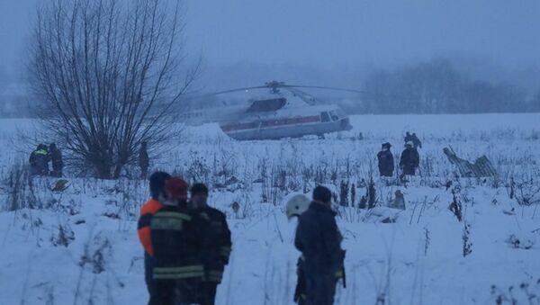 Спасатели на месте крушения самолета Ан-148 - Sputnik Абхазия
