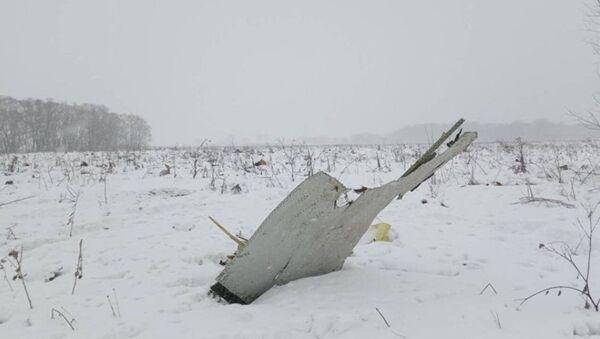Обломки на месте крушения самолета Ан-148 - Sputnik Абхазия
