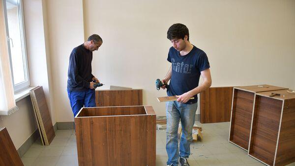 Новая мебель поступила в АГУ - Sputnik Абхазия