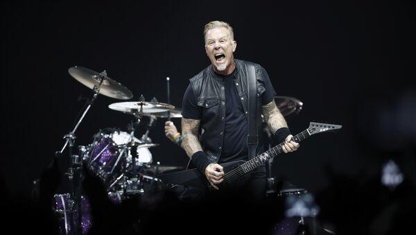 Рок-группа Metallica - Sputnik Абхазия