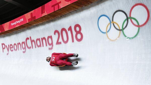 Олимпиада 2018. Санный спорт. Мужчины. Первый день - Sputnik Абхазия