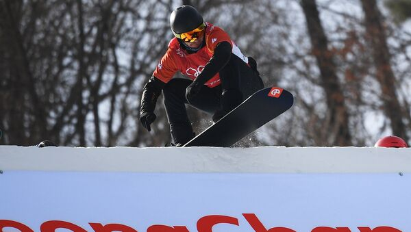 Олимпиада 2018. Сноуборд. Мужчины. Сноуборд-кросс - Sputnik Абхазия