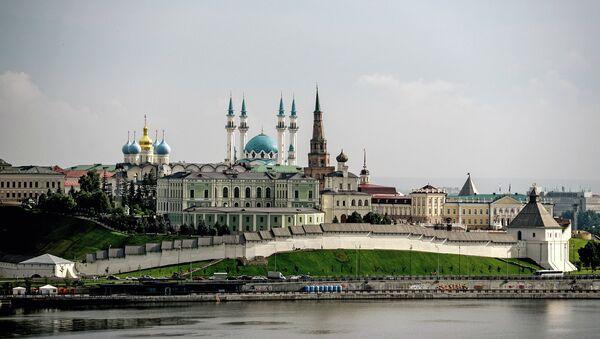 Казанский кремль – древнейшая часть города Казани, объект Всемирного наследия ЮНЕСКО. Кремль неоднократно перестраивался. Современный архитектурный ансамбль сложился к концу XIX века - Sputnik Аҧсны