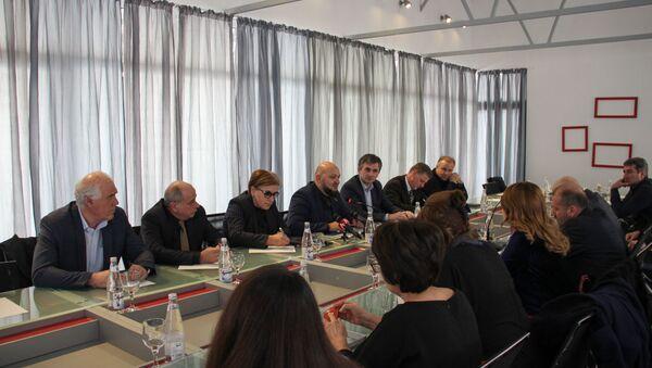 Круглый стол на тему НДС в Абхазии - Sputnik Абхазия