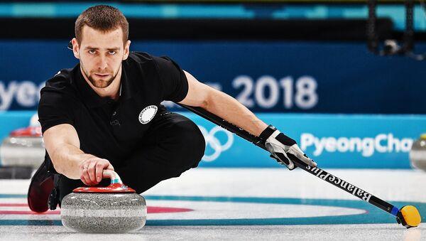Олимпиада 2018. Керлинг. Микст. Матч Россия - Швейцария - Sputnik Аҧсны