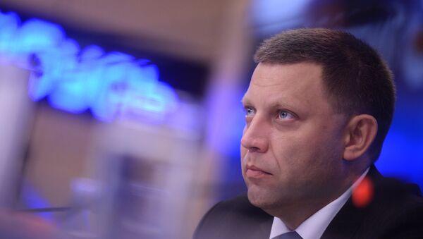 Глава Донецкой народной республики Александр Захарченко - Sputnik Аҧсны