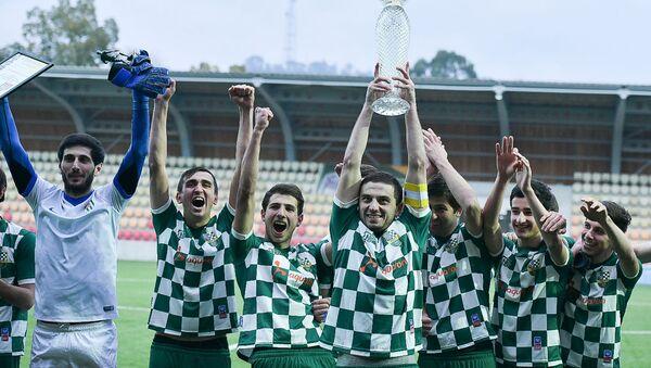 Финал чемпионата Абхазии по футболу. Команда Нарт - Sputnik Абхазия