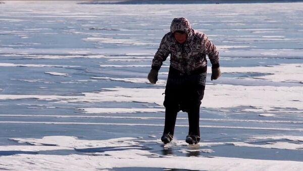Бабушка на коньках - Sputnik Абхазия