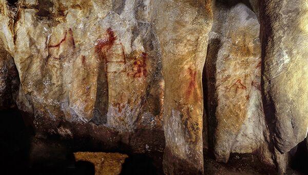Рисунки неандертальцев в пещере Ла Пасьега в Испании - Sputnik Абхазия