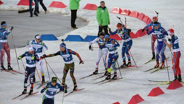 Международные соревнования по биатлону и лыжным гонкам Приз губернатора Тюменской области - Sputnik Абхазия