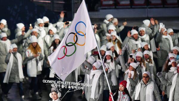 Церемония открытия XXIII зимних Олимпийских игр - Sputnik Абхазия